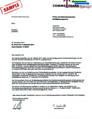 Tranlanguage Bank Reference Letter Germany
