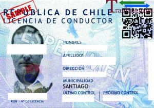 Tranlanguage Driver License Chile